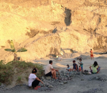 Informal mining in the Philippines