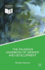 An image of the book cover, the palgrave handbook of gender and development